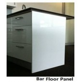 Kitchen Cabinets Bar Floor Panel